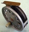 1- KIEWA vintage Fly fishing reel. Made