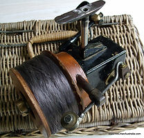 SEAMARTIN pro-type reel by Cliff Martin, Lakes Entrance Vic - Extremely rare