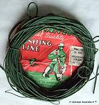 1- Atlantic vintage fishing line 45 LBS