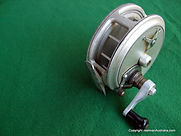 Crouch fishing reel with new design aluminium crank-handle.