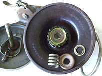 ALVEY Wedgelock vintage fishing reel spool identfication