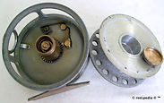 4- DAWSON vintage Fly reel 4 way cross c
