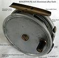 1- KINGSTON vintage Fly reel