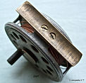 3-2. Early Dawson vintage Fly reel. Dia,