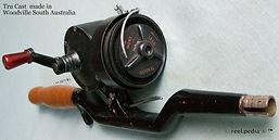 1- Tru Cast vintage spinning reel made i