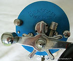 6- SEASCAPE vintage fishing reel Blue an