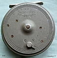 2-DAWSON vintage Grey FLY REEL