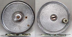 1- Kiewa non perforated vintage Fly reel
