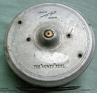 2- Monty vintage fly fishing  reel  made