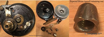 1-Steelite Fishkil vintage fishing reel made in Australia