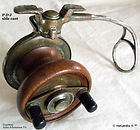1- P D J vintage side cast reel made in