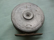 DAWSON Fly Fishing Reel, Back image RARE model