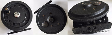 3-  Dawson vintage Fly fishing reel made