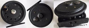 3-  Dawson vintage Fly fishing reel made