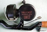 2- Tru Cast vintage spinning reel made i