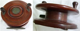 2- Wood & brass Smith Jones 6 3/8 ''