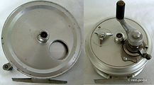 2- Crouch Cd 2 vintage fishing reel made