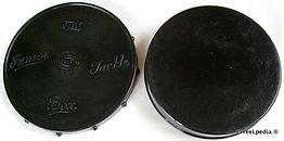 3- Alvey Vintage Black Tackle Box
