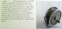 5- EUREKA vintage Fly reel made by Jack
