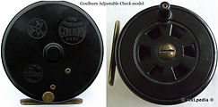 1-Fly reel Goulburn adjustable check vintage Fly reel