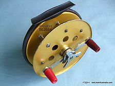 HALCO vintage Gold anodized Star-Drag Fishing reel. Rare