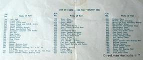 08- TAYLOR vintage fishing reel service