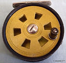 1-Lesta vintage Fly fishing reel. Made i