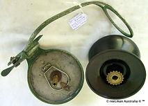 ALVEY Wedge lock vintage side cast fishing reel