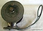 ALVEY vintage wedge lock Flat crank fishing reel