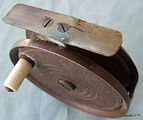 3- Ideal vintage fly fishing reel. Made