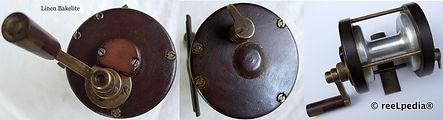 2-Vintage Multiplying Worshop made fishing reel