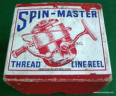 Spin-Master Fishing reel Box, Rare.