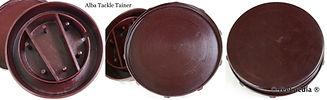 2- ALBA Bakelite Tackle Box