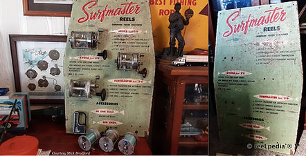 1-Surfmaster vintage fishing reel RARE a