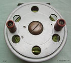 2- DAWSON FLY REEL 4'' Silver paint fini