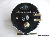 CLIMAX vintage bakelite fishing reel back plate view, the last modle produced by H.B. Chalmers, Melbourne circa late 1930.