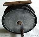 1- KINGSTON vintage Fly fishing reel. Ma