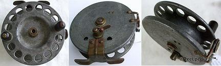 1-Vintage Nottingham workshop 4'' reel made in Australia