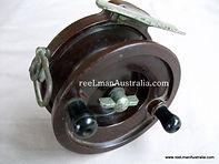 CLIMAX Extremely Rare Bakelite Nottingham X back plate vintage fishing reel