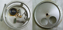 2-CROUCH dual aperture  vintage fishing