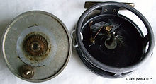 5- ACE vintage Fly fishing reel internal
