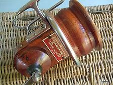 SEAMARTIN vintage wood & metal fishing reel at reeLman Australia.com