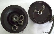 6- Korka 3 1/2 inch side cast vintage fi