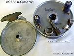 ROBERTS vintage game fishing reel intern