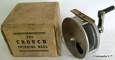 1- Crouch c5 brass back vintage fishing