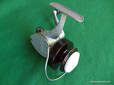 Spinall vintage spinning reel in Mint condition, rare