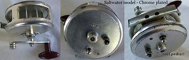 2-CLASMI vintage Fly fishing reel, Saltwater model