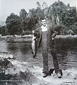 1- Jack Crouch Jr, fishing with his Crou