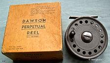1- DAWSON vintage FLY REEL & early box