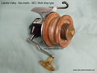 SEC worshop made Seamartin style fishing reel